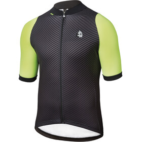 Etxeondo Carbono SS Jersey Men Black/Fluor